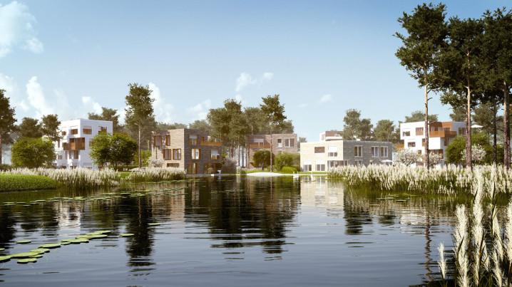 Fünf Morgen - Dahlem - Lakeside village impression