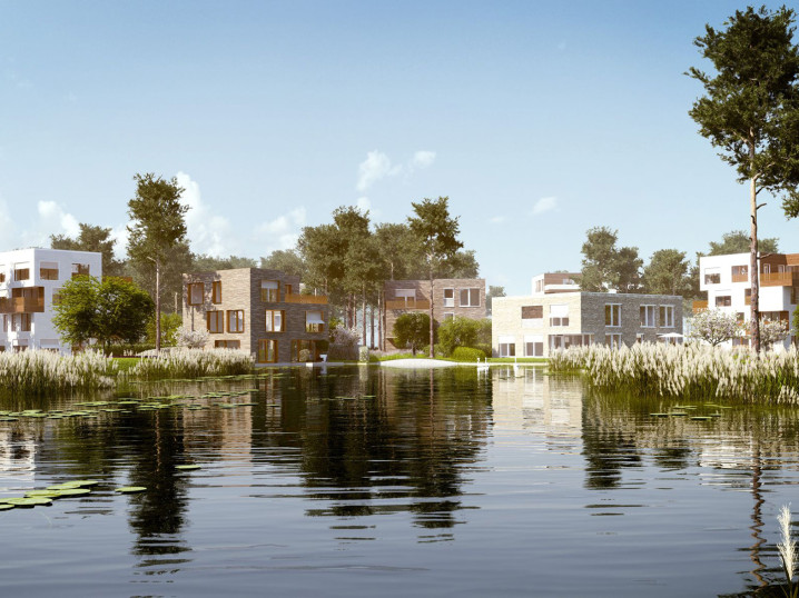 Marketing Visualisierung 5Morgen Lakeview