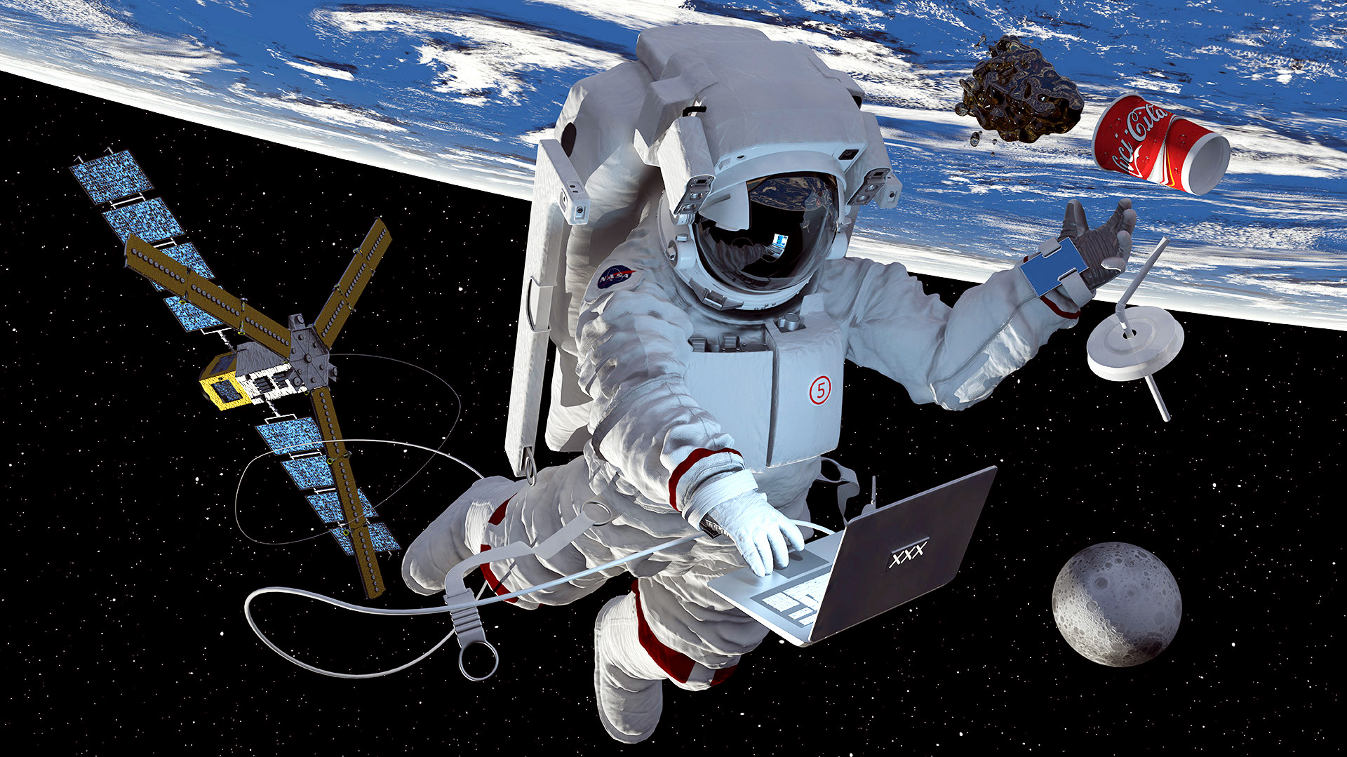 3d_Astronaut