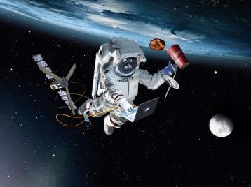 3d Astronaut by FLC Helsinki