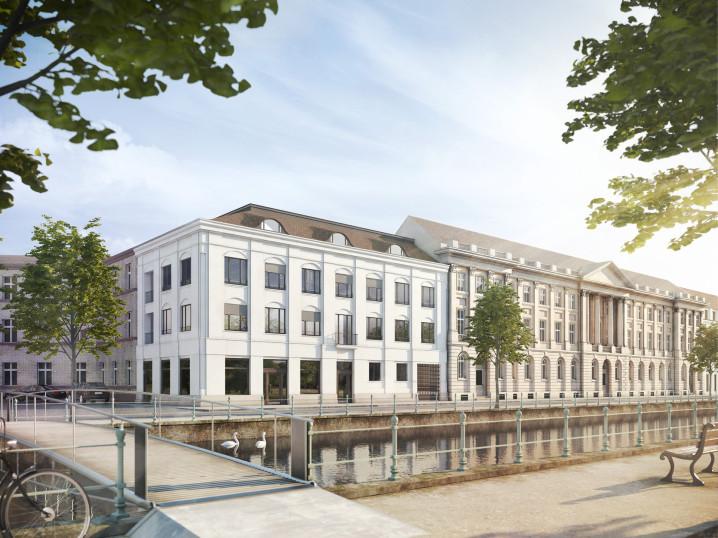 Außenvisualisierung Brockessches Palais: Yorckpalais