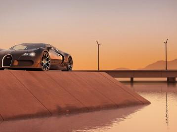 Bugatti 3d Studie