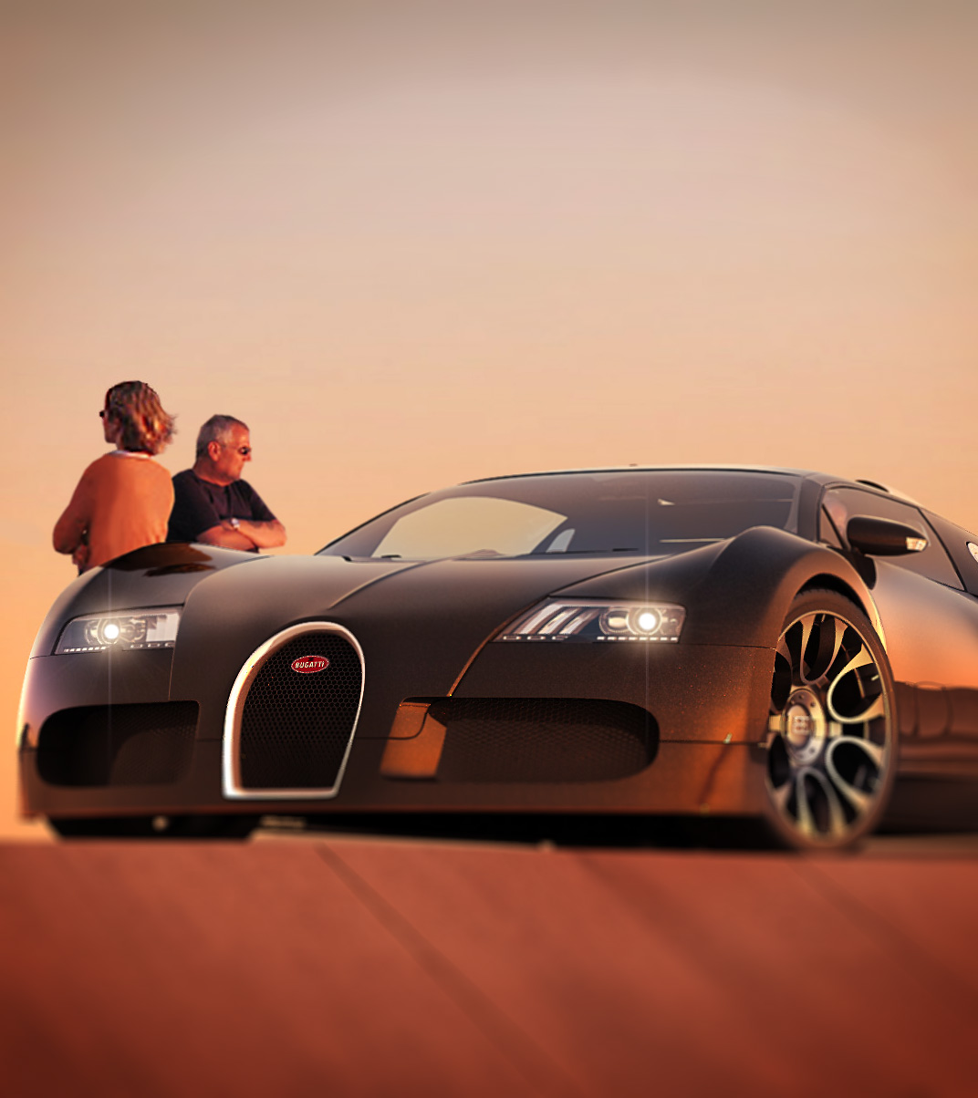 Bugatti Veyron- People Integration
