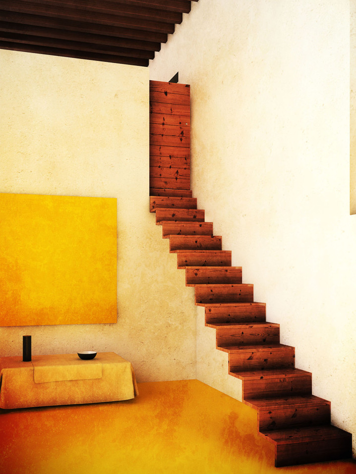 Casa_Barragan_staircase_CGI_by_xoio