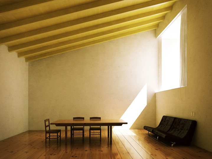 Casa_Barragan_yellow_CGI_by_xoio