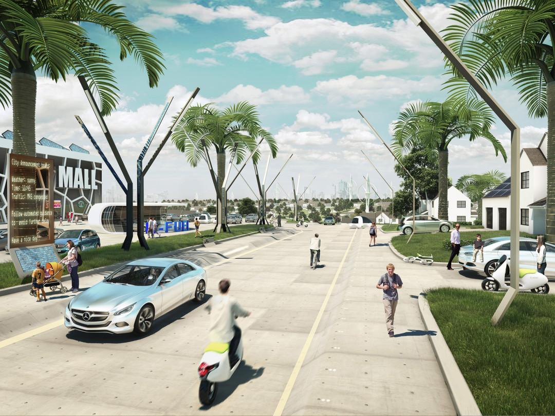 daimler future of mobility - suburbia