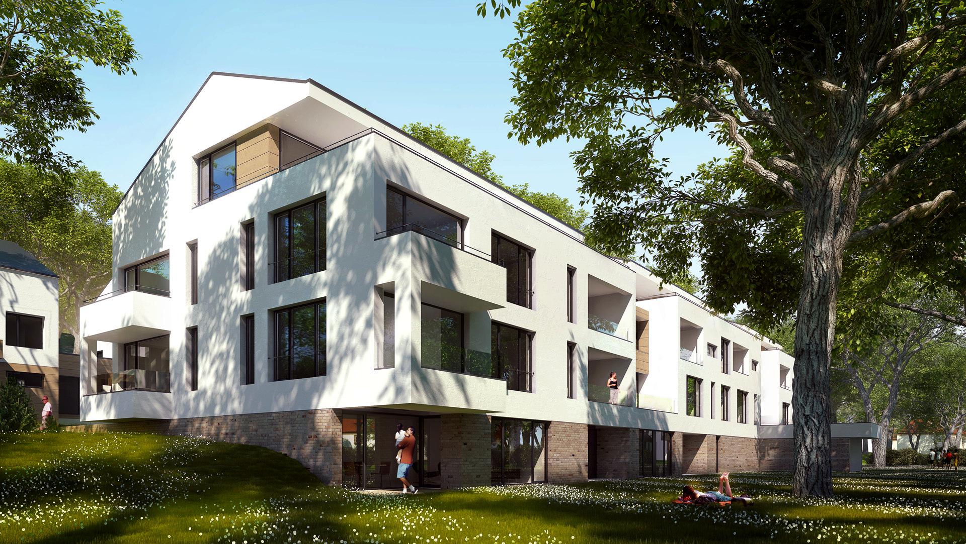 Architekturvisualisierung Stuttgart illustrationen architektur landschaft rohrer höhe xoio