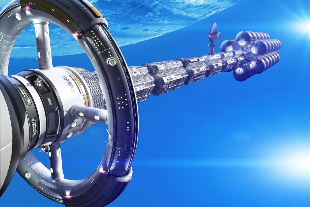 Spaceship_Daedalos_Popular_Mechanics_by_xoio