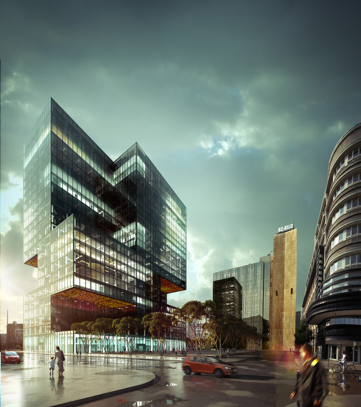Axel Springer Berlin skyscraper