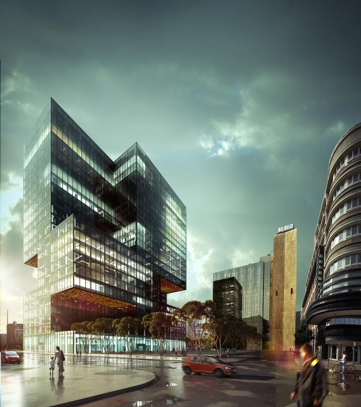 Architekturvisualisierung Berlin xoio de architekturvisualisierung animation illustration