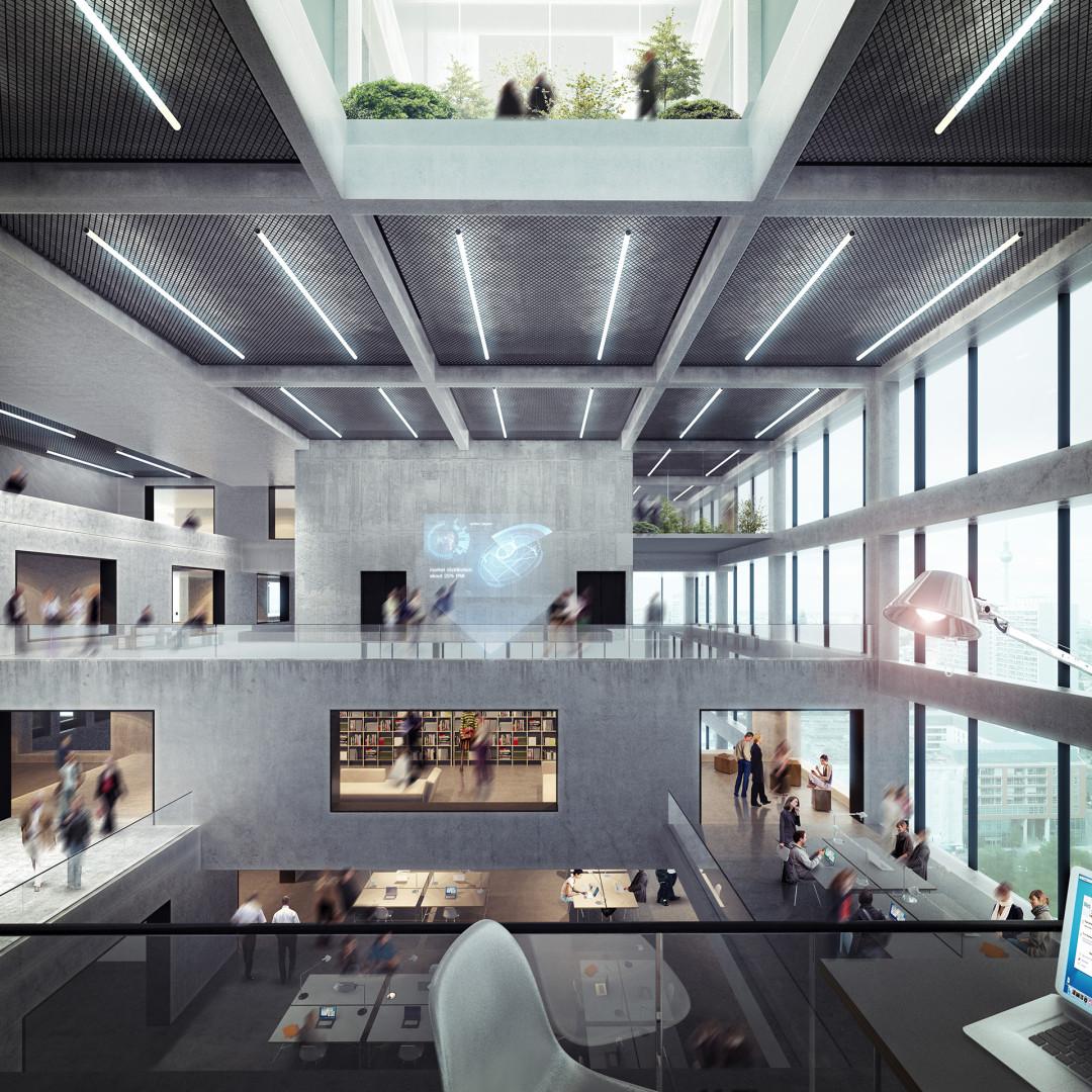 Axel Springer Berlin interior