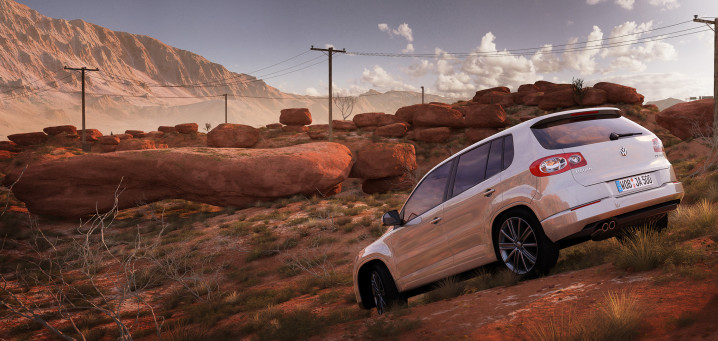 Volkswagen_CGI_Tiguan_Desert_produktvisualisierung_by_xoio