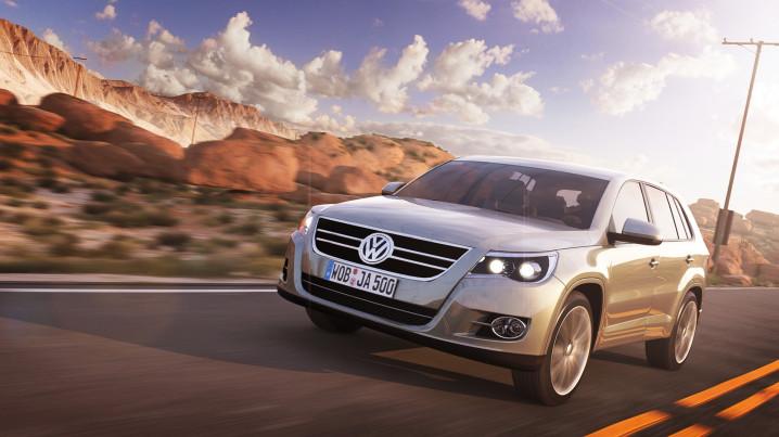 Volkswagen Tiguan Desert Track