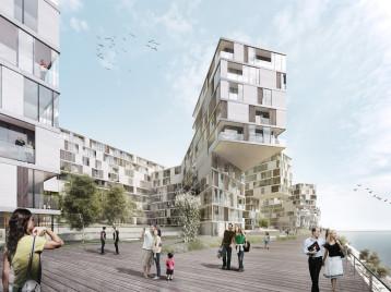 Architekturvisualisierung städtebaulicher Wettbwerb