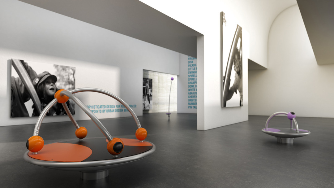 Productvisualization premium playground equipment xoio for Product design berlin