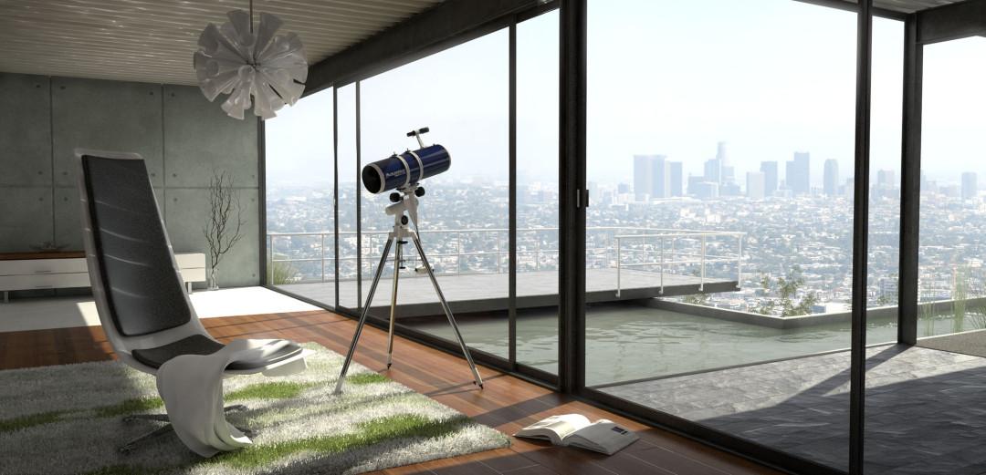 virtual productshot celestron scenery