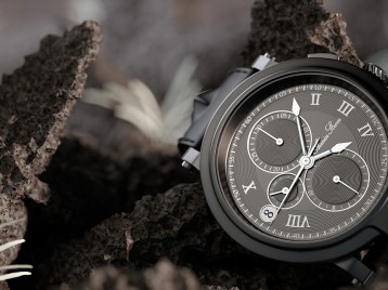 Chronograph 3d illustration - Full