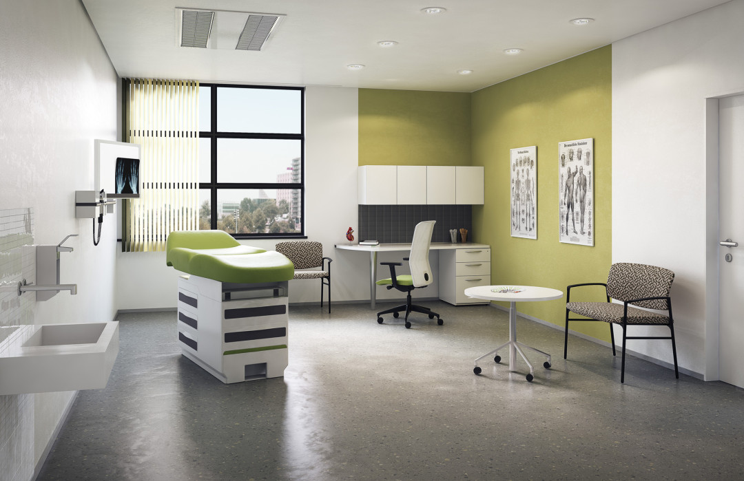 healthcare environment: exam room