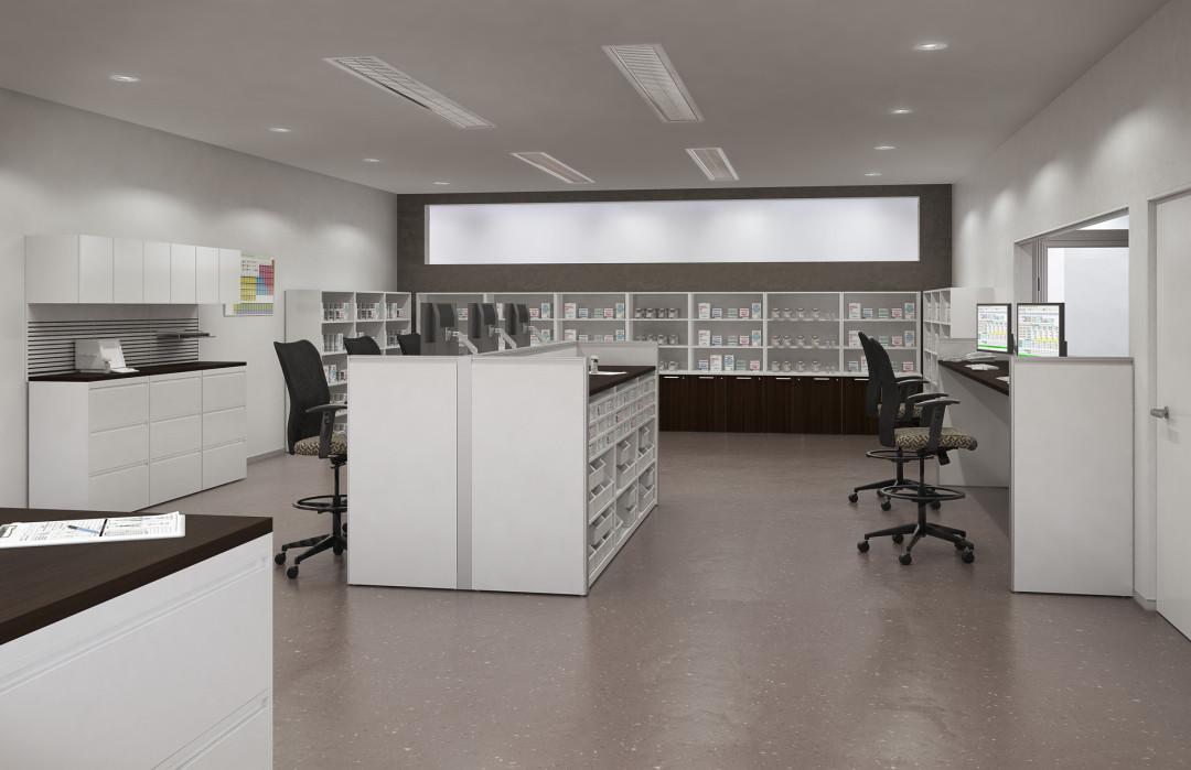 healthcare environment: pharmacy