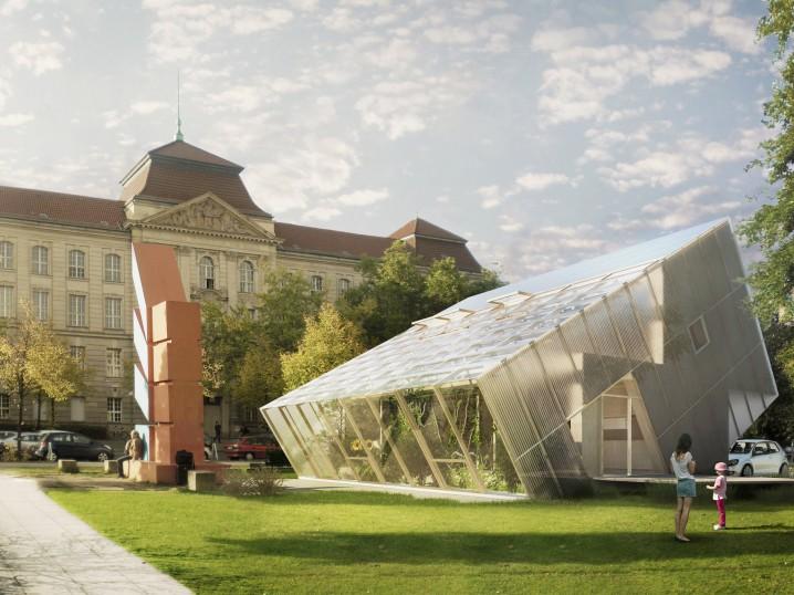 Zero Energy Building by Studioberlin