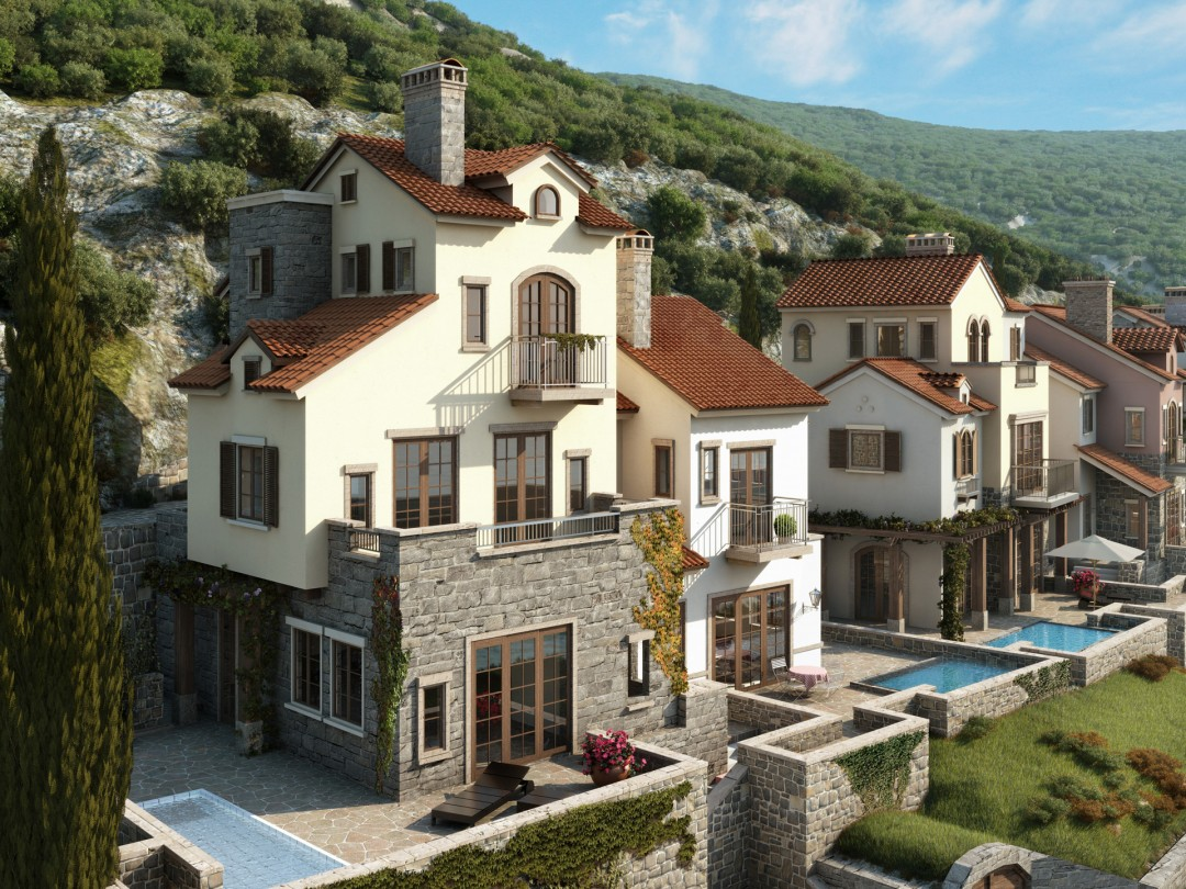 Seaside_Village_Lustica_Bay_Townhouse_by_xoio