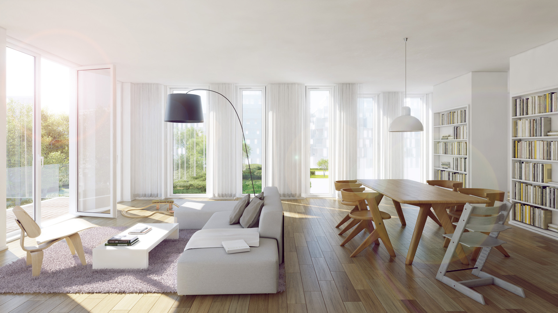 The garden homes interior visuals 3d for Innenraum design berlin