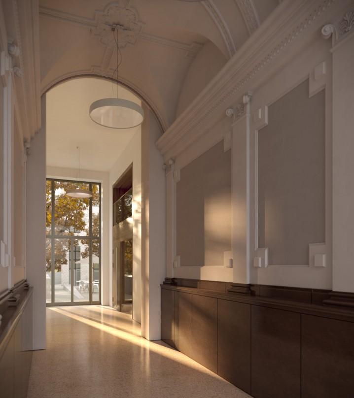 Vosspalais Eingangsbereich