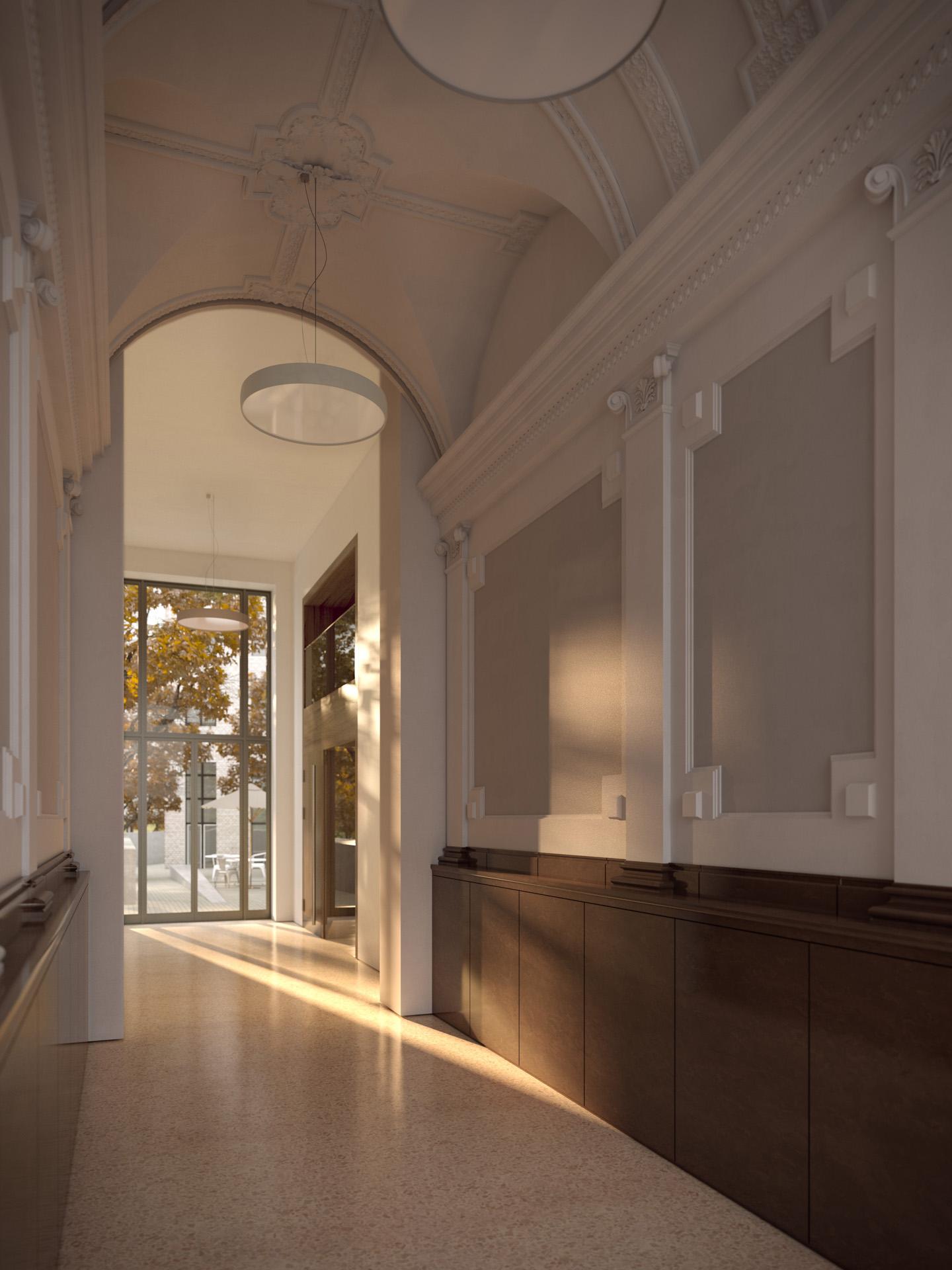 refurbishment entrance