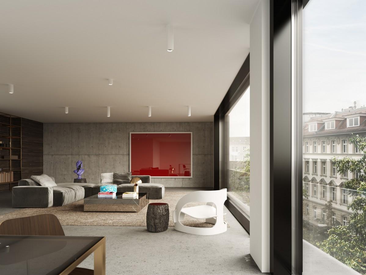 architekturvisualisierung animation illustration. Black Bedroom Furniture Sets. Home Design Ideas