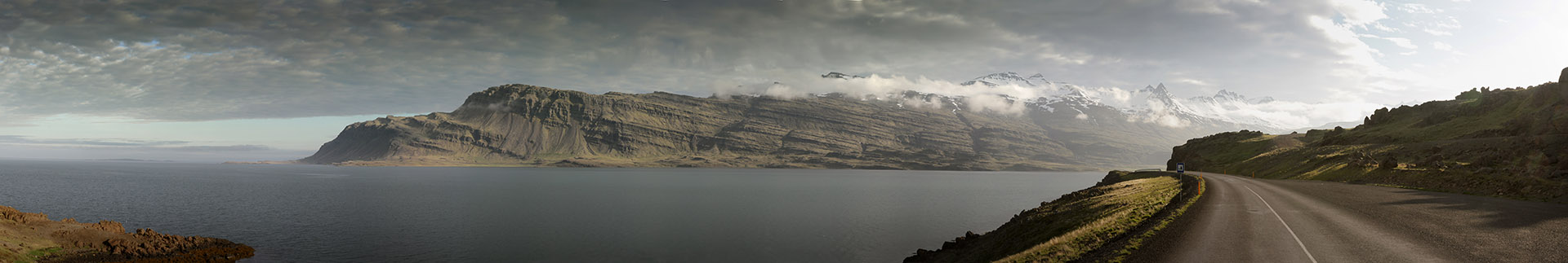 Eastfjords Panorama by xoio