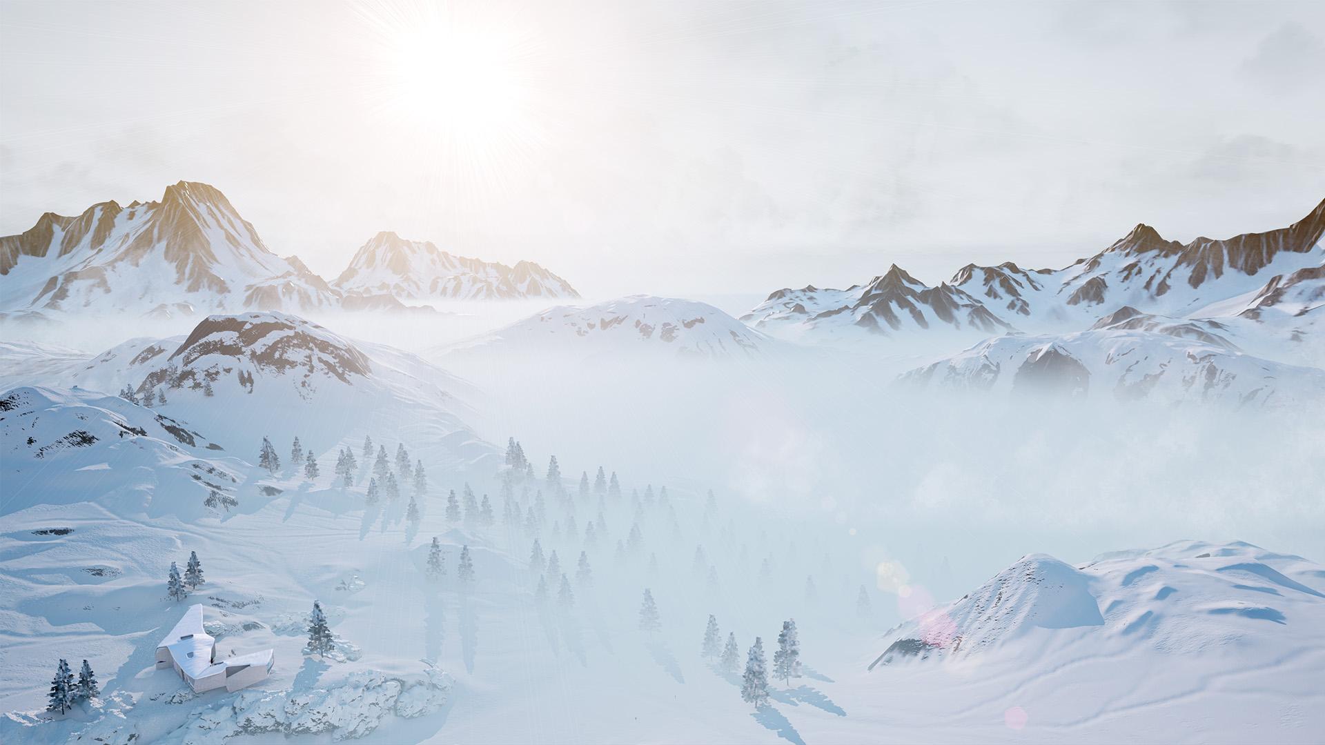 Interactive winter scene - xoio