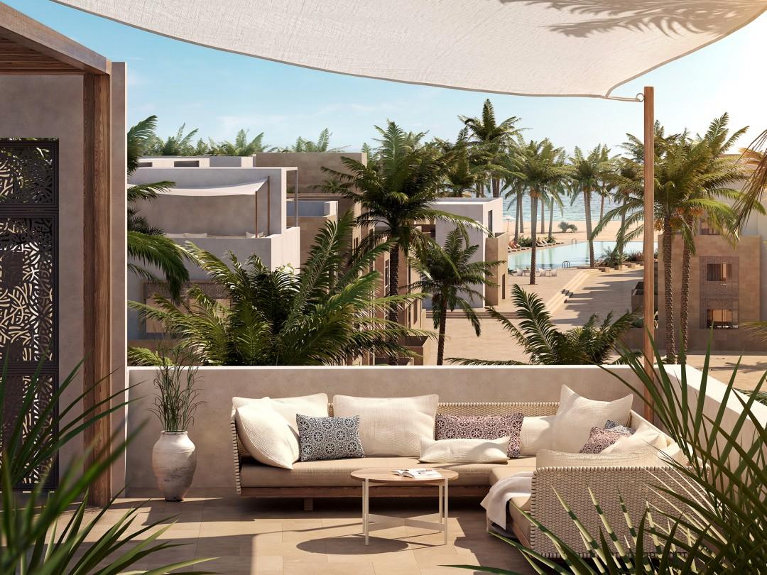 Mangroovy Beachresort Dachterrasse