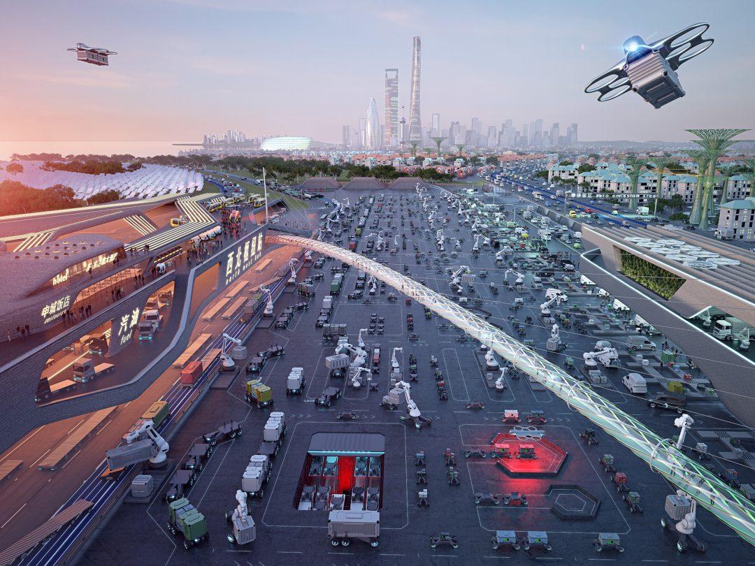 Daimler Nutzfahrzeuge - Zukunftsszenario Asien
