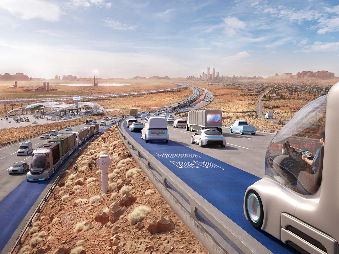 Daimler Nutzfahrzeuge - Zukunftsszenario USA