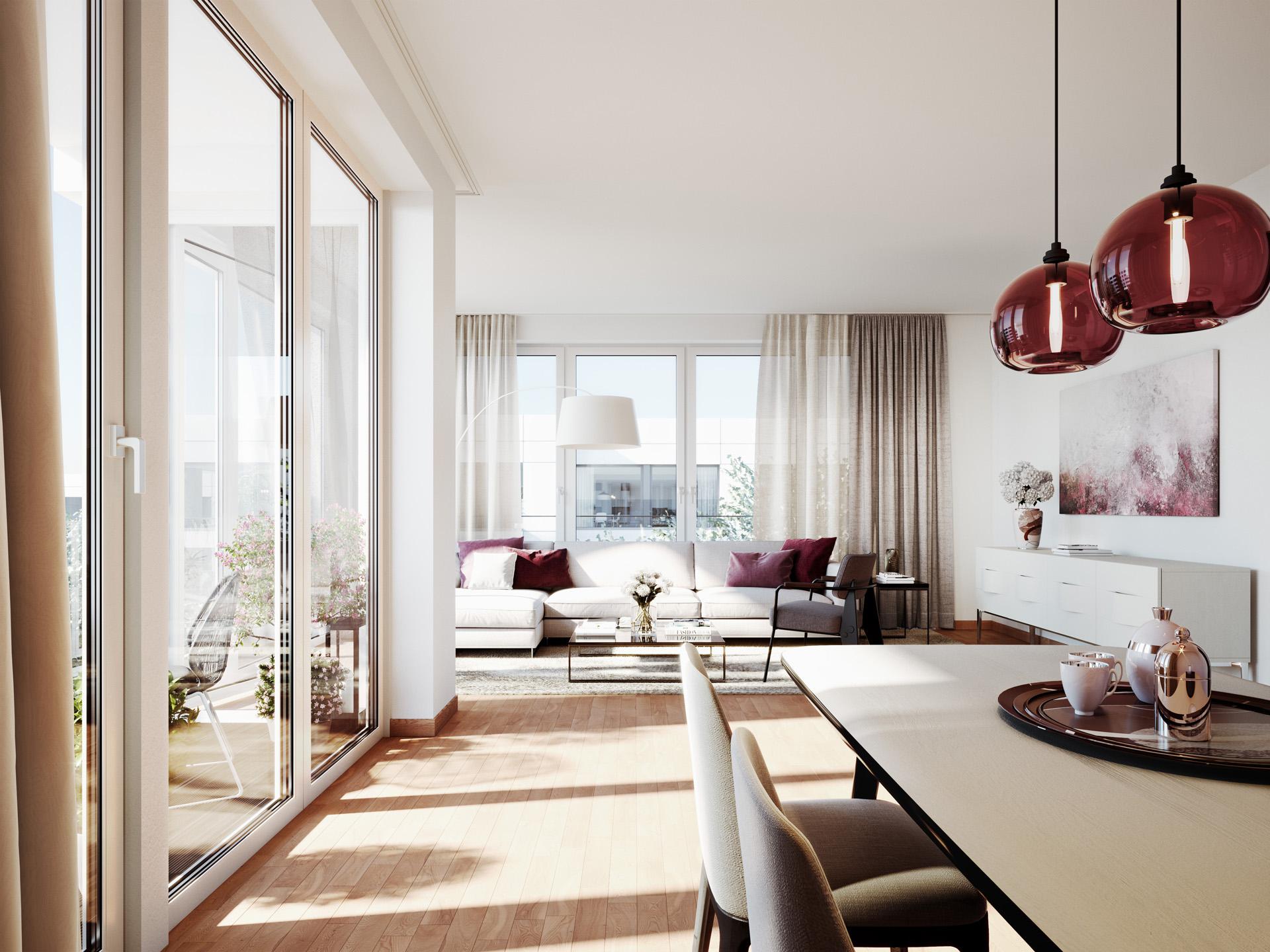 Maximilians quartier architekturvisualisierung xoio - Architekturvisualisierung berlin ...