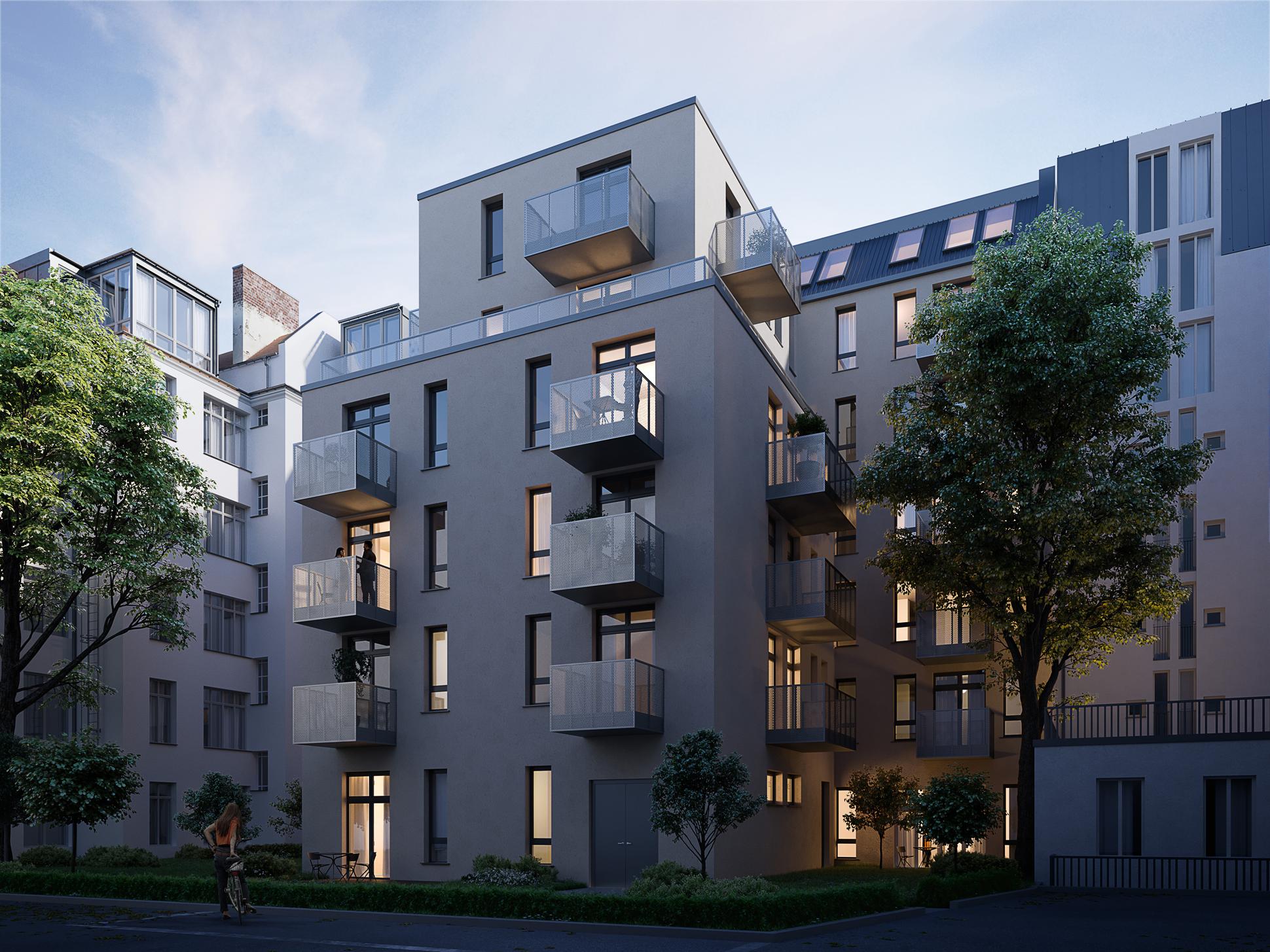Lietzenburger strasse architekturvisualisierung xoio - Architekturvisualisierung berlin ...